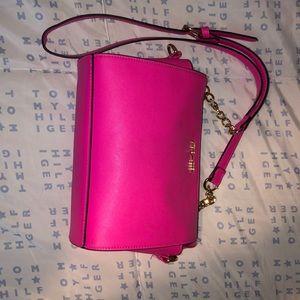Steve Madden bright pink shoulder bag